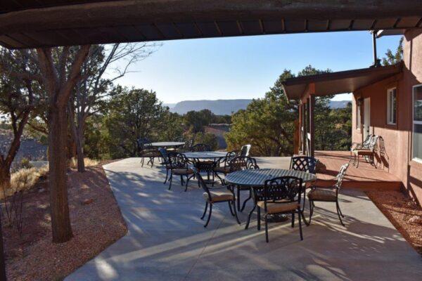 Lodge South patio view (2)