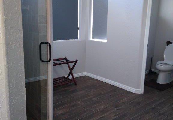 Lodge master bathroom