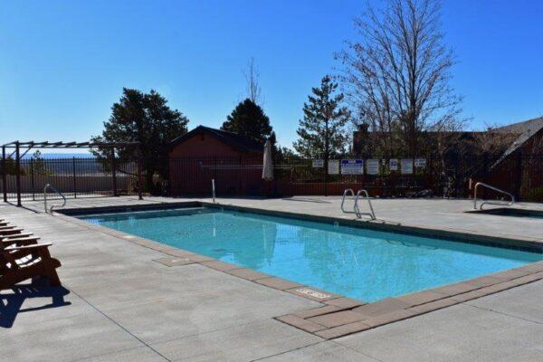 Lodge pool southeast view