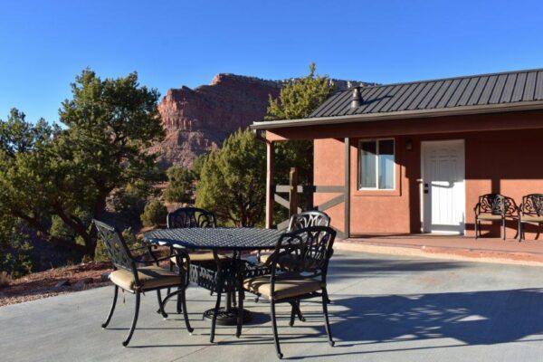 Lodge south patio