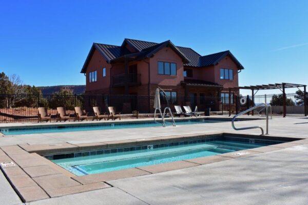 Lodge spa-pool