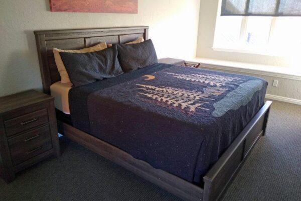 Lodge upstairs bedroom