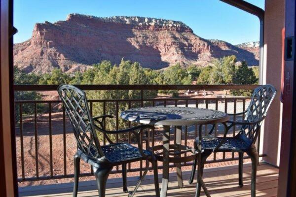 Retreat balconey view