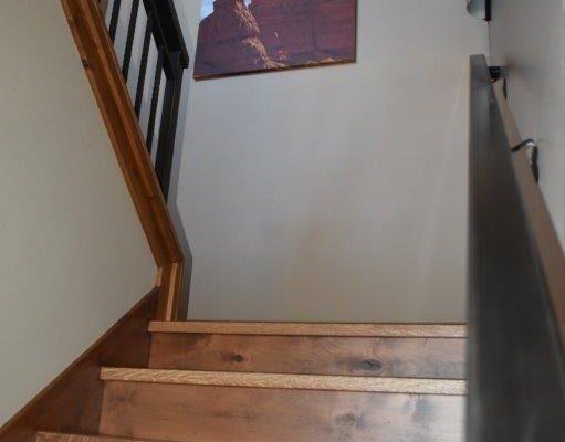 Retreat stairs